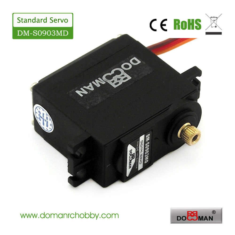 ドーマンrc DM-S0903MD 56グラム/0.15 s/10kg. cmメタルギア270度ロボット使用9キログラムデジタルサーボ