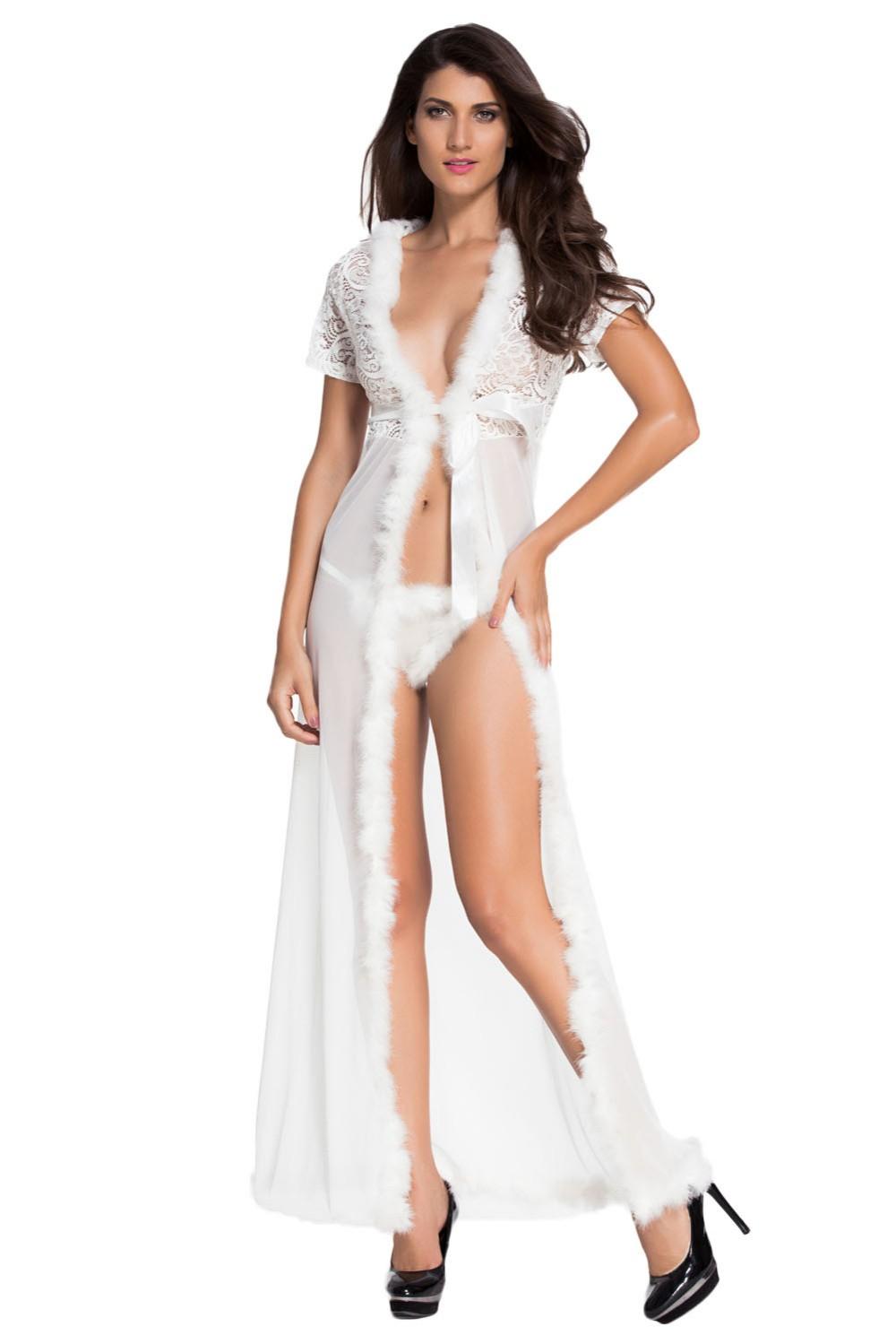 Ivory-Fur-Trim-Glam-Night-Robe-LC60365-1-7