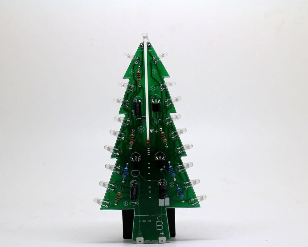 Christmas Trees Colorful RGB LED DIY Kit Professional Flash LED ...