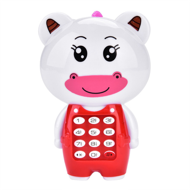 Baby Toys Electronic Toy Phone Children Animals Sounding Vocal Musical Mobile Phone