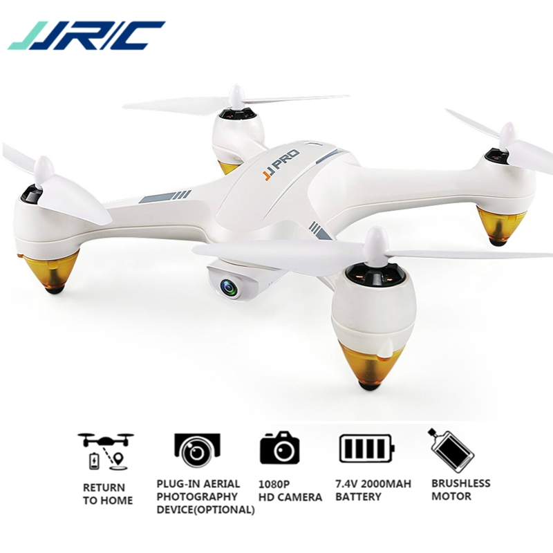 JJRC JJPRO X3 HAX RC Quadcopter Dron Double-Mode Wifi FPV GPS RC Quadcopter Jouet Drones Avec Caméra HD 1080 p Brushless RTF