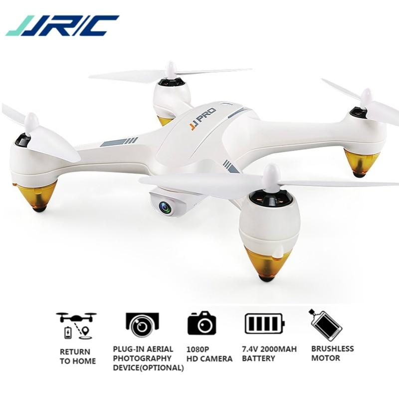 JJRC JJPRO X3 HAX RC Quadcopter Dron Double-Mode Wifi FPV GPS RC Quadcopter Jouet Drones Avec Caméra HD 1080 p Brushless RTF