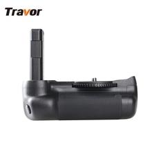 Travor Вертикальная Батарейная ручка держатель для Nikon D5500 D5600 DSLR камера работает с EN-EL14a батареей