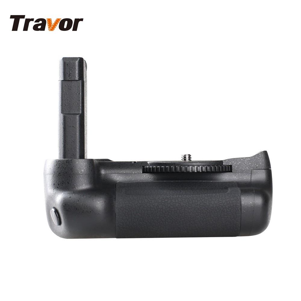 Travor vertical battery grip holder for Nikon D5500 D5600 DSLR Camera work with EN-EL14a battery vertical battery grip for nikon d5500 dslr camera bg 2t