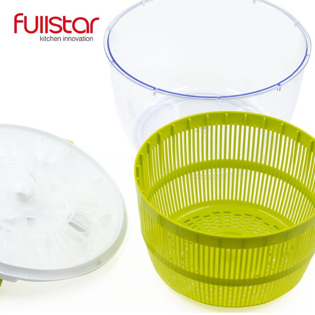 Fullstar Salad bowl Jumbo Salad Spinner Kitchen Tools kitchen accessories  for vegatable Mixer Salad gadgets food helper 4