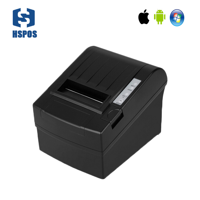 3 inch bluetooth desktop thermal printer with auto cutter high speed usb port support android and IOS with RJ11 cash drawer port