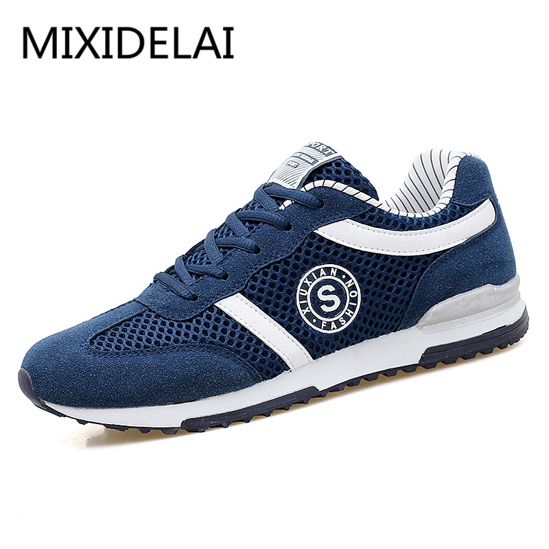 low priced 76c85 e2f4e Men Casual Shoes Zapatos Hombre Breathable Casual Footwear Shoes  Lightweight Flats Shoes loafers chaussure homme big size 39-46