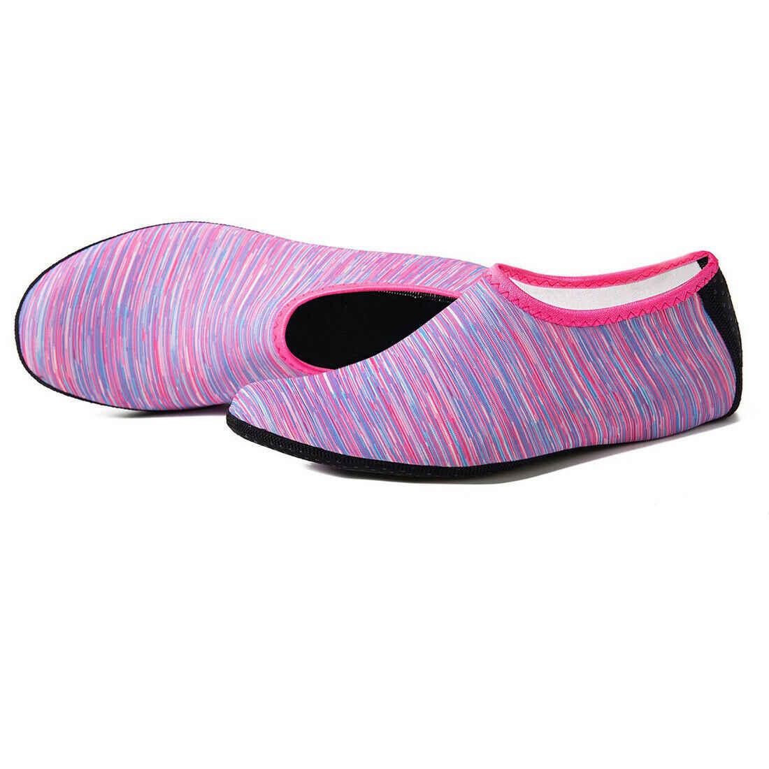 2019 Yeni Unisex Yalınayak Su Cilt Ayakkabı Aqua Çorap Plaj Yüzmek Sörf Yoga Egzersiz spor çorapları