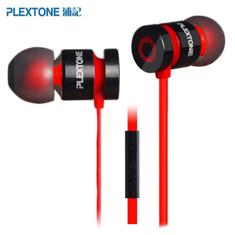 Plextone X38M Écouteurs Stéréo Super Bass Écouteurs Sport Casque Antibruit Mains Libres Écouteurs Écouteurs Avec Micro pour Téléphone