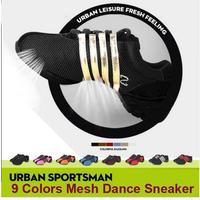 Giảm giá Nữ Platform Sneakers Jazz Dance Giày Cao Gót Nêm Sneakers Phụ Nữ Cô Gái Sneaker Giày Giày Nhảy Bán Buôn Trên Bán