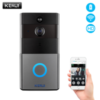 KERUI Security Video Doorbell battery Phone WiFi 2.0MP 1080P Door Bell Camera Two Way Audio Night Vision Wireless Video Intercom