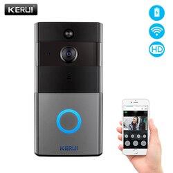 KERUI Tuya Smart Life беспроводной WiFi видеодомофон дверной звонок 2MP 1080P телефонный звонок Дверной звонок Домашняя безопасность камера ночного виден...