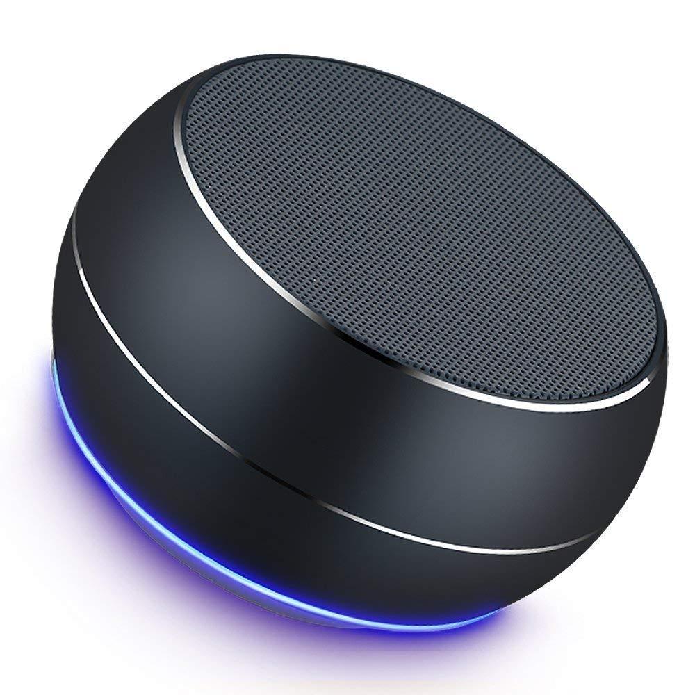 LENRUE A9 Mini Altoparlante del Bluetooth Portatile Stereo Bass Colonna Audio Subwoofer Altoparlante Senza Fili Altoparlanti Esterni con LED AUX