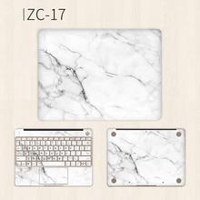 White Marble Laptop Sticker for Huawei Matebook X Pro 13.9 13.3 Vinyl Decal Notebook Skin MateBook E 12 D 15.6