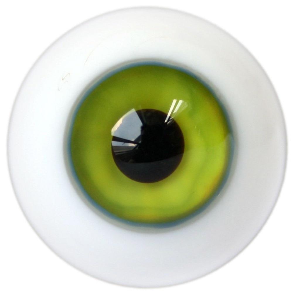 ET73# 16mm Water Green SD DZ DOD LUTS BJD Dollfie Glass Eyes Outfit [wamami] black leather cap hat 1 3 sd dod dz luts bjd dollfie