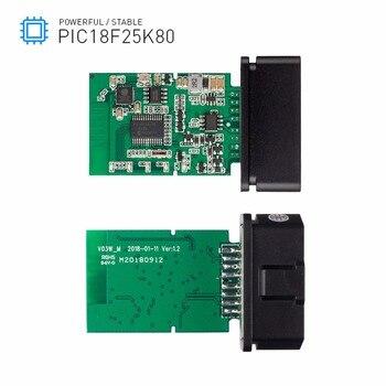 ELM327 WiFi/Bluetooth V1.5 PIC18F25K80 Chip OBDII Diagnostic Tool IPhone/Android ELM 327 V 1.5 ICAR2 OBDSCAN Scanner Code Reader