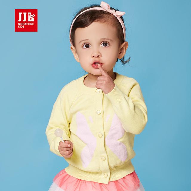 Bebê meninas camisola casaco cardigan crianças roupas infantis primavera tamanho 1 - 3 anos crianças roupa da criança casacos