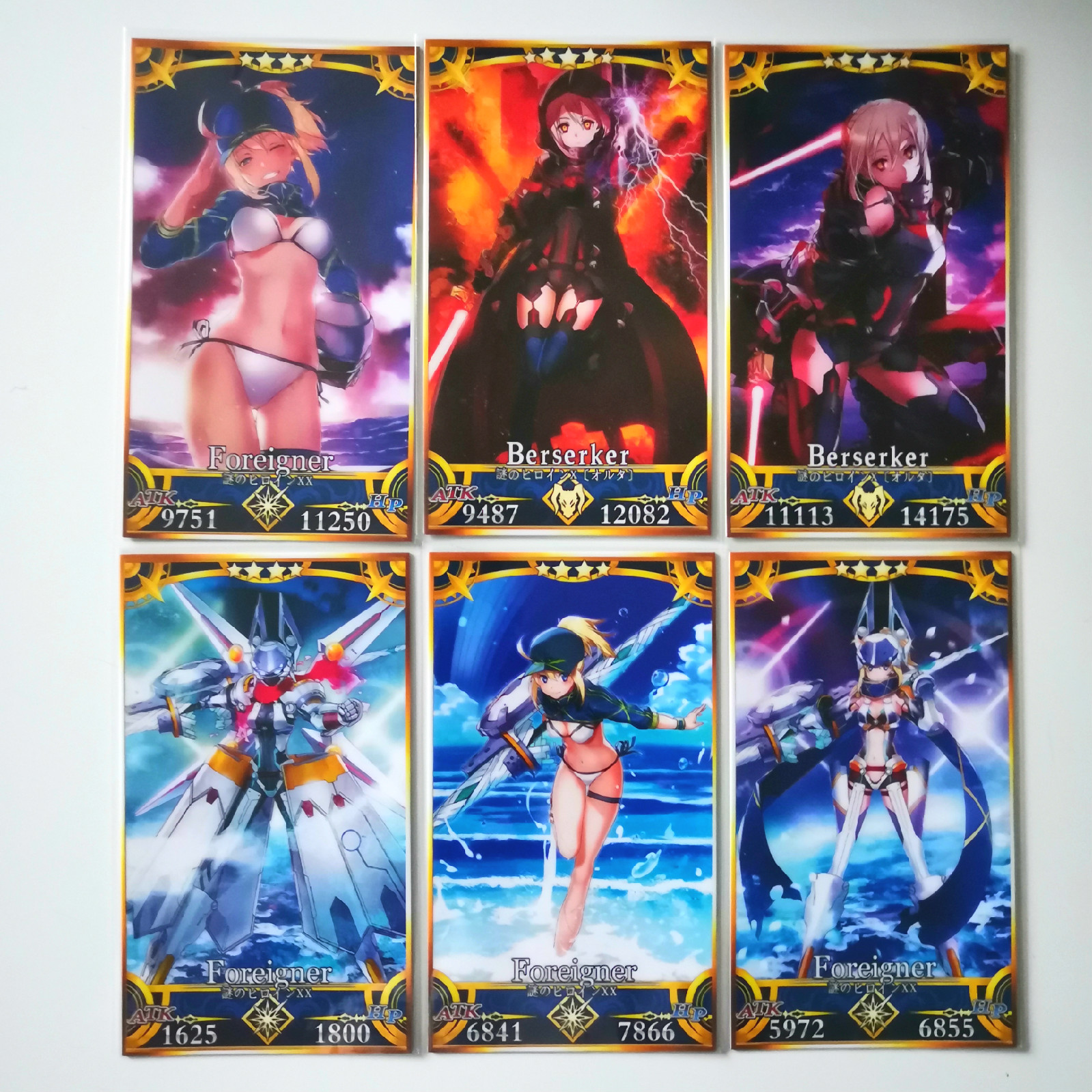 42pcs/set Fate Zero Toys Hobbies Hobby Collectibles Game Collection Anime Cards