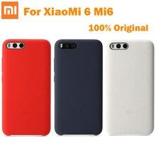 100% Оригинал Официальный Xiaomi ПК Силиконовый Защитный чехол задняя крышка Для Xiaomi 6 M6 Ми-6