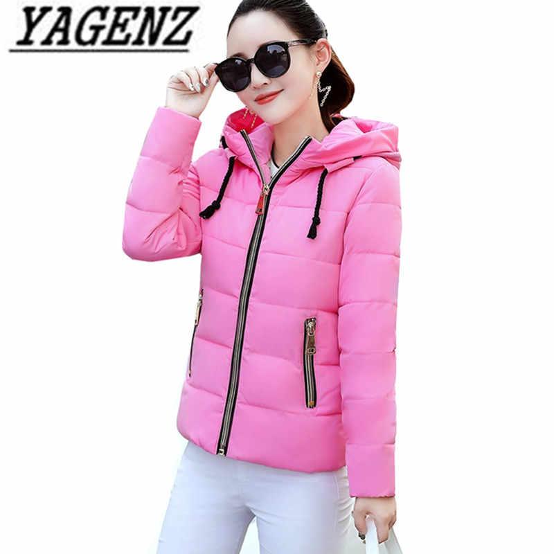 2019 Winter Jacke frauen Plus Größe Frauen Parkas Warme Oberbekleidung mit kapuze Mäntel Kurze Weibliche Dünne Baumwolle gepolsterte Casual tops