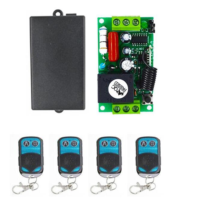 2017 Home Smart Universal Gate Light Remote Control Ac