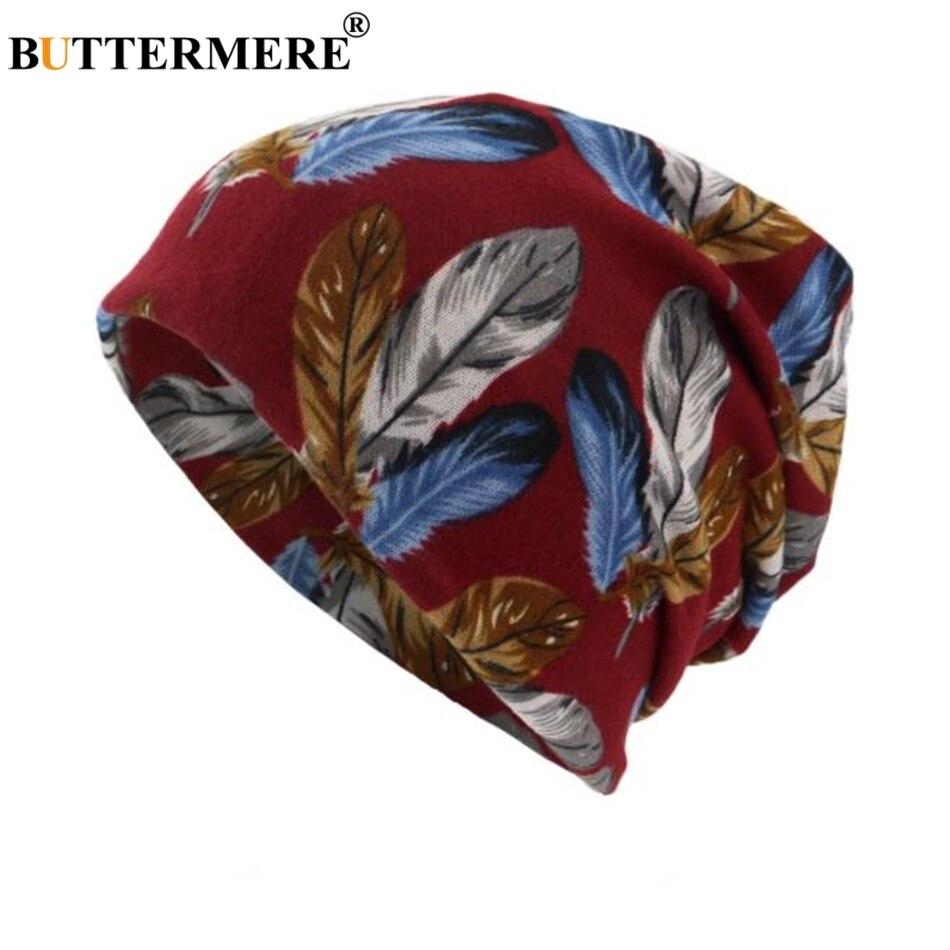BUTTERMERE Turban Hat Female Male Autumn Women Men   Skullies     Beanies   Soft Bonnet Stocking Hat Bonnet Cap Bone Stretch Neckerchief
