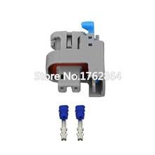 10PCS  Female connector terminal car wire 2 pin female Plug Automotive Electrica seal-DJ7021Y-0.8-21
