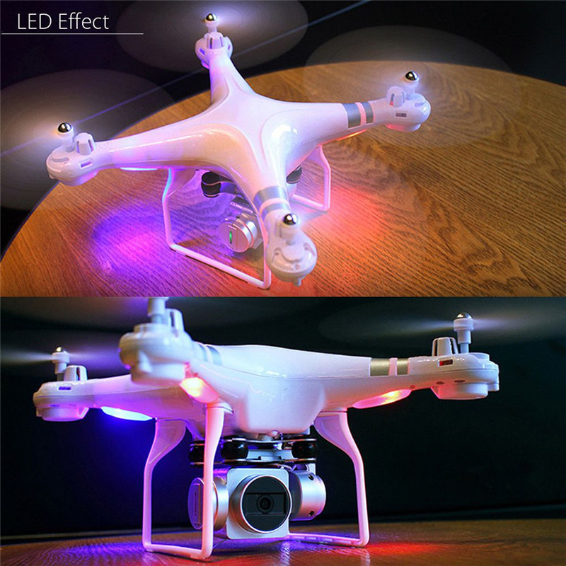 X52 Drone 0.3MP 2MP HD Camera Wifi FPV Drone RC Helicopter Radio Controlled 2.4G 4CH 6Axis Altitude Hold Quadcopter