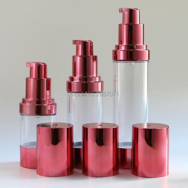30ml 50ml Airless Bottle Vacuum Pump Lotion Refillable