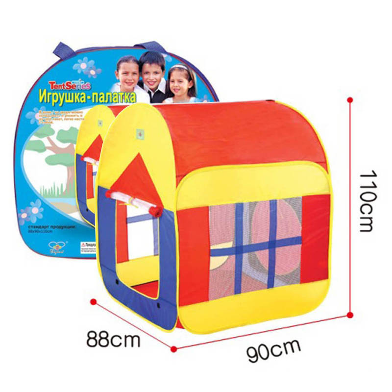 New kids gift toys Indoor Outdoor Beach Play House Children Baby Tents Foldable Kids House toys kids crooked house kids crooked house