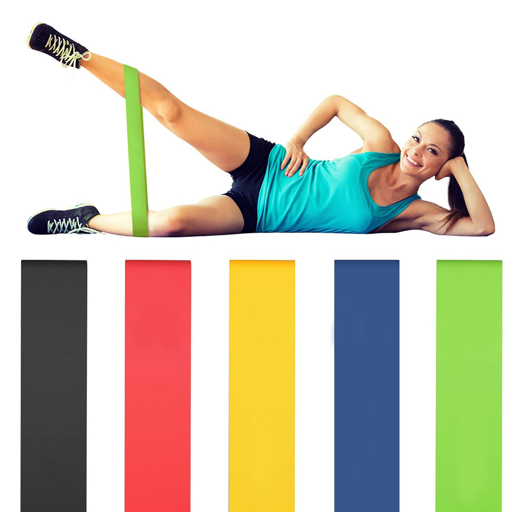 Hot Sale Fitness Yoga Resistance Bands Health Elastic Sport Latex Belt Pull Strap Pilates Sport  Training Strap Fitness Equipmen