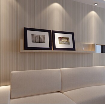 aliexpresscom comprar envo gratis tejidas papel pintado moderno minimalista finas rayas verticales wallpaper saln dormitorio papel tapiz de fondo de