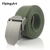 New Arrival Real Striped Adult Fashion Men Free Tiger Leather Belt Ultra Long 140 Canvas Belt