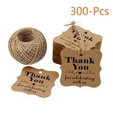 f352859af0ad Etiquetas de papel de regalo navideño para decoración de fiesta de cuerda  de embalaje de regalo