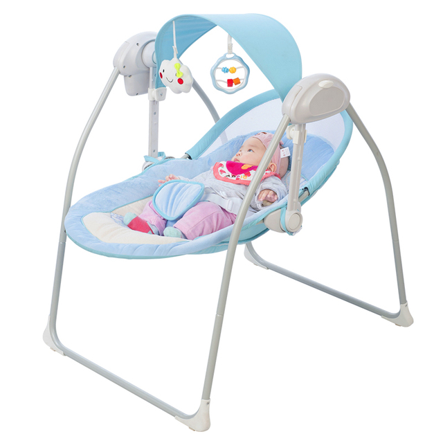 Mecedora para bebé, cuna eléctrica, mecedora para niños, dispositivo mágico Coax para bebé, cama para dormir, trineo para recién nacido