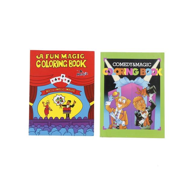 1 45 16 De Réduction Un Livre De Coloriage Magique Amusant Comédie Livres De Coloriage Magique Tours De Magie Illusion Enfants Jouet Cadeau Tour De