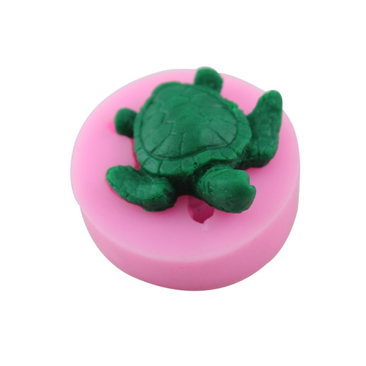 Turtle Shaped Cake Bakeware Mold 3D Silicone Mold DIY Chocolate