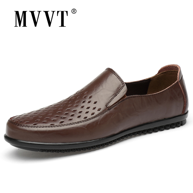 Summer Comfortable Slip On Men Loafers Casual Shoes Man Leather Shoes Men Flats Hot Sale Driving Shoes Moccasins Plus Size 47 in Men 39 s Casual Shoes from Shoes
