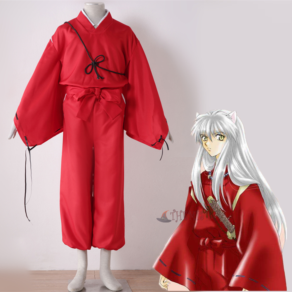 Athemis Anime Inuyasha Cosplay Costume custom made Dress High Quality