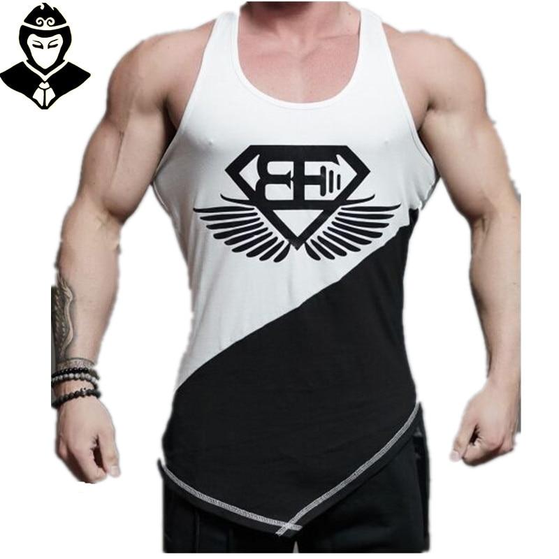 Men Sport Tank Top Cotton Designed Men's Tank Top Gym