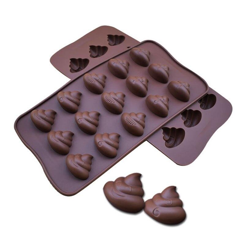 Sincero Molde De Hielo De Jalea De Fácil Limpieza Molde De Torta Antiadherente Utensilios De Cocina Moldes De Chocolate Taburete De Silicona En Forma De Herramientas Para Hornear