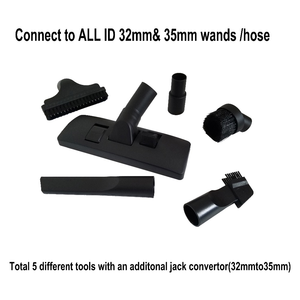 ALL 32mm 1.2535mm Vacuum Cleaner Carpet Floor cleaning head Brush Tool Nozzle crevice for AEG ELECTROLUX Philips HOOVER Miele 32mm vacuum cleaner brush accessories multi functional nozzle brush kit fit for philips electrolux lg series vacuum cleaner