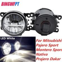 1 paio di Alta Qualità della luce di nebbia HA CONDOTTO LA luce Della Lampada Alogena Per Mitsubishi Pajero Sport Montero Sport Nativa Prajero Dakar