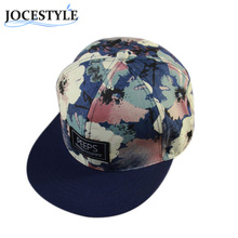 1614348a0ea Unisex Casual Caps Men Women Outdoor Sunhats Snapback Hat Adjustable  Baseball Cap Cool Floral Printed Cool