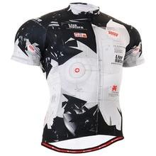 Life on track hombres Ciclismo Jersey bike Bicicletas corta Camisas leche  impreso bicicleta ropa ciclismo blanco negro 9d1530d4b