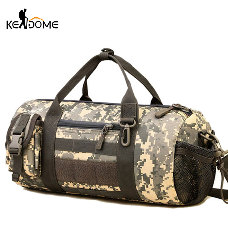 Outdoor Sports Army Gym Bags for Women Men Fitness Camouflage Tactical Military Molle Bags Shoulder Bag Travel Duffle XA266WD professional sports gym bag outdoor men women travel handbag luggage duffle bags multifunctional fitness training shoulder bags