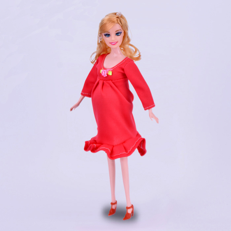 New Real Pregnant Doll Mom Baby Tummy Pregnacy with Dress ...
