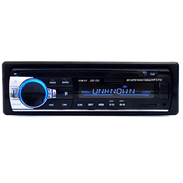 1300d57f737 JSD 520 12V Bluetooth V2.0 Car Stereo Audio In dash Single Din FM ...