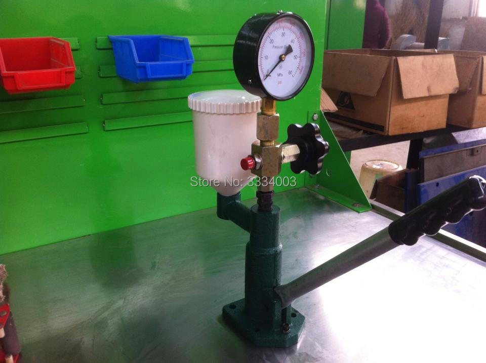 S80H diesel fuel common rail injector nozzle tester with metal base, common rail injector repair tools diesel fuel system 0445110291 common rail injector assembly dlla155p1674 injection nozzle