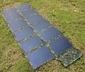 72 Вт CIGS тонкопленочных Солнечных Панелей Высокая Эффективность Водонепроницаемый Солнечных Батарей Складной и Портативный Солнечное Зарядное Устройство для Смартфонов ПК